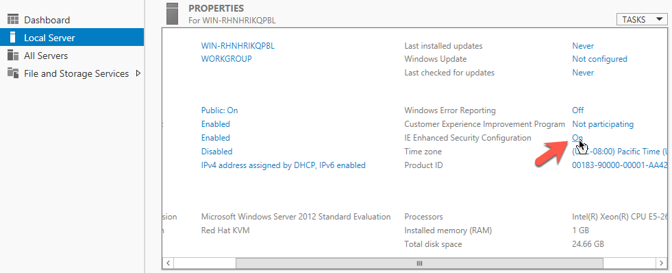 Cài đặt Windows Server và Remote Desktop Connection - Câu